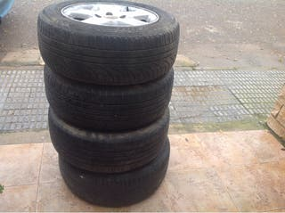 4 ruedas llantas aluminio 205/60R15