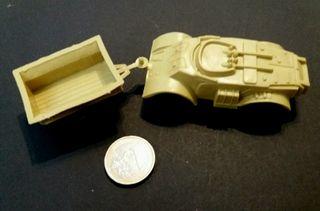 Antiguo coche juguete plástico años 80