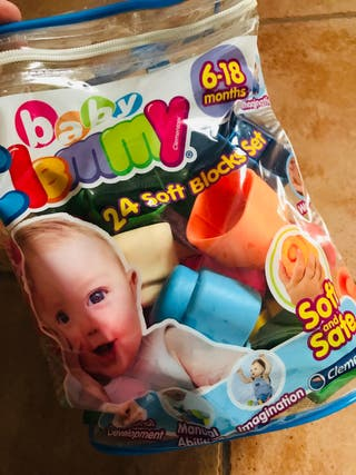 Bloques blanditos Baby Clementoni