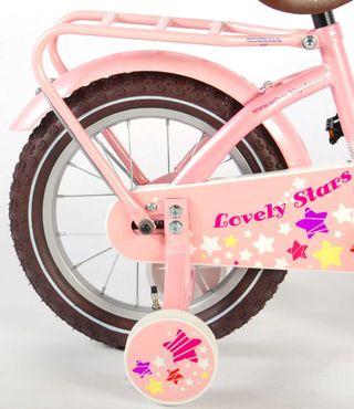 """Bicicleta infantil Volare Lovely Stars rosa 14"""""""