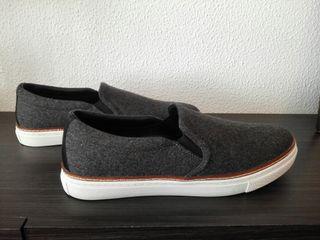 Zapatillas Massimo Dutti. Nuevas, de piel