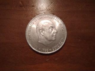 Monedas de Plata de Franco de 1966