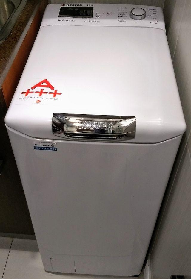 Lavadora Hoover carga superior A+++