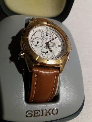 b495dc7312e55 Reloj Seiko cronografo de segunda mano en WALLAPOP