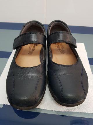 Zapatos colegial niña