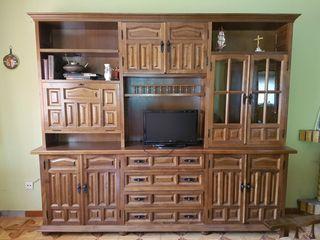 Mueble de salón de haya maciza