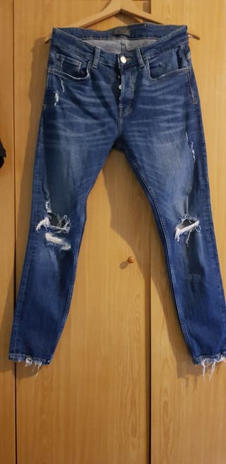 Pantalón hombre skinny Zara. Talla 40.