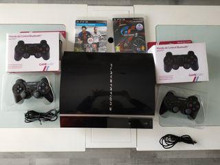 PS3 con mandos