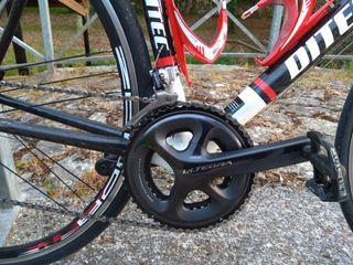 Bicicleta carretera de carbono ditec 1.2