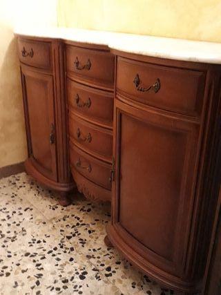 mueble recibidor rustico