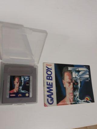 juego game boy clasico terminator 2