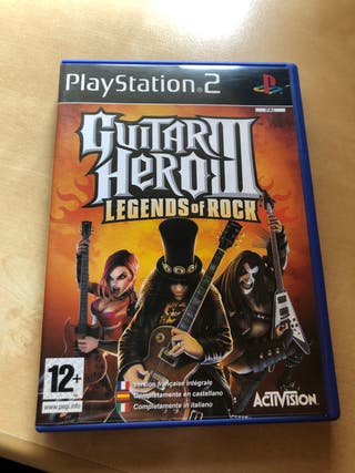 Guitar Hero III - Legends of Rock- PS2