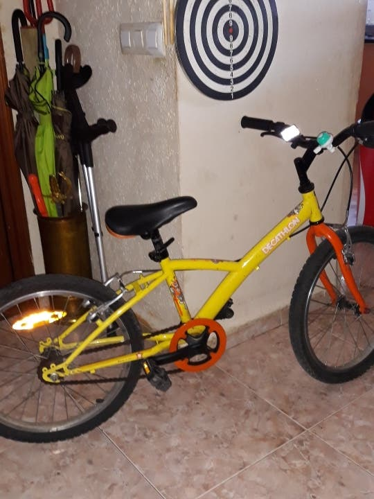 bicicleta decatlon