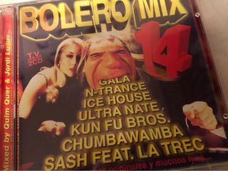 CD Bolero Mix 14.Dance.Disco.Nuevo