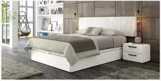 Dormitorio Matrimonio 048 Soul Blanco-Mármol