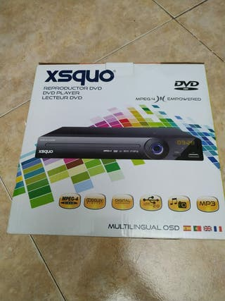 XSQUO reproductor DVD