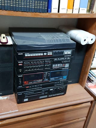 equipo philips fcd565