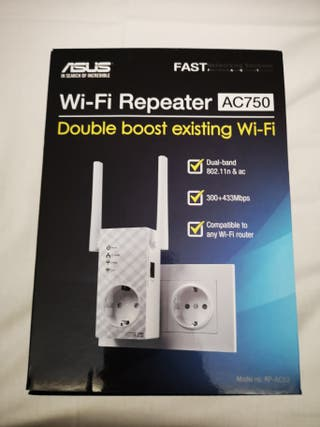 Repetidor Wifi doble banda