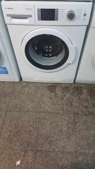 Lavadora secadora marca Bosch 7 kg de lavado 4 kg