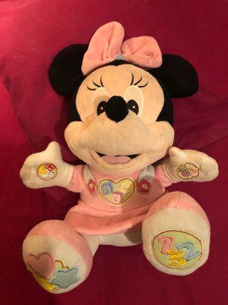 Minnie peluche musical