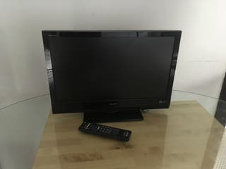 Televisión SONY 22pulgadas con reproductor de DVD