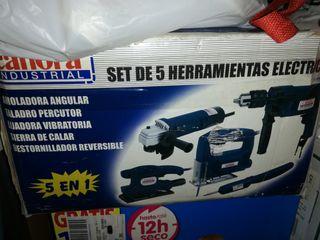 set de 5 herramientas electicas