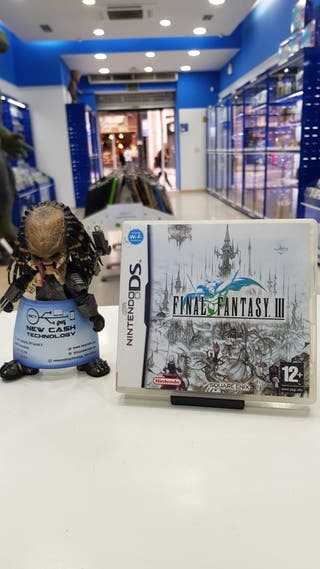 FINAL FANTASY III NINTENDO DS IMPECABLE