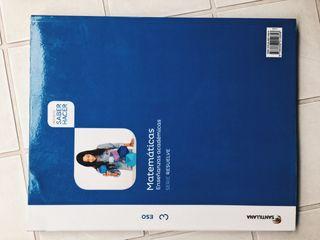 Libro matemáticas 3ESO