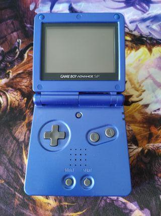 Game Boy Advance SP seminueva.