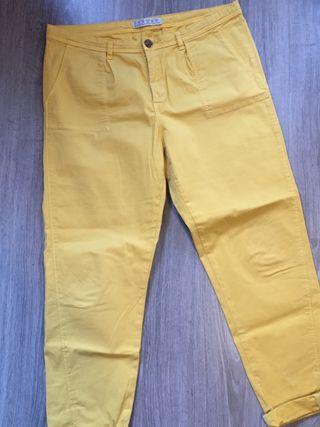 Pantalon chino Zara T40