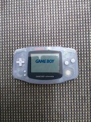 game boy advance con cargador original