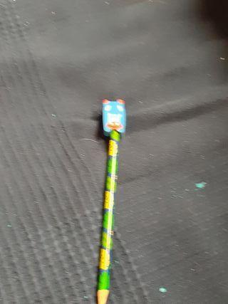 lápices con borrador