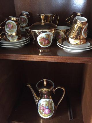 Juego de cafe antiguo