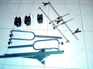 equipo de sensores para la pesca de carpa