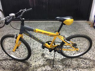Bicicleta niño 6 - 8 años aproximadamente