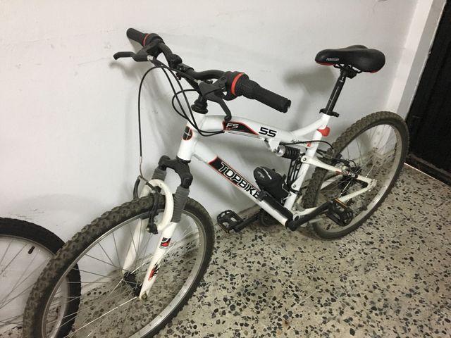 Bicicleta de aluminio mujer