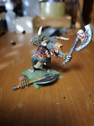 minotauro de la condenacion warhammer