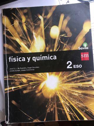 Libro de fisica y quimica de 2 ESO
