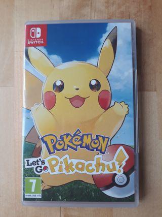Pokemon Lets Go Pikachu - Nintendo Switch