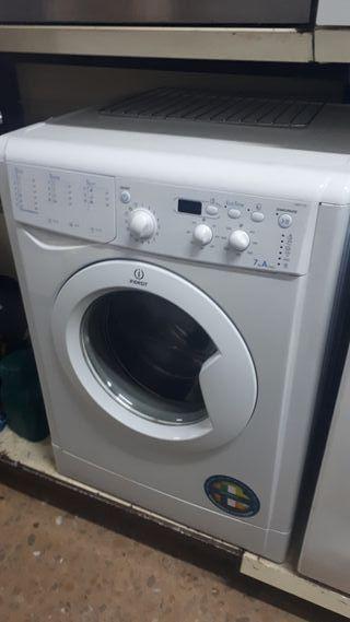 Lavadora indesit 7kg clase A