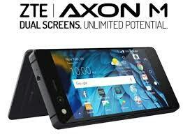 Móvil ZTE Axon M, doble pantalla.