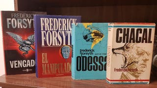 5 novelas Frederick Forsyth