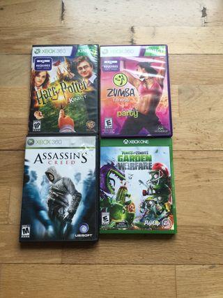 Xbox 360 y Xbox One juegos