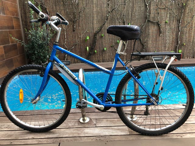 Bicicleta Decathlon Rockrider.
