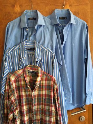 4 Camisas Polo Ralph Lauren 43 / XL/ 17