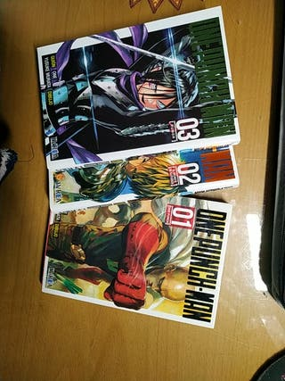 ONE PUNCH MAN MANGA N° 2 y 3