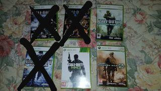 Juegos de Xbox 360.