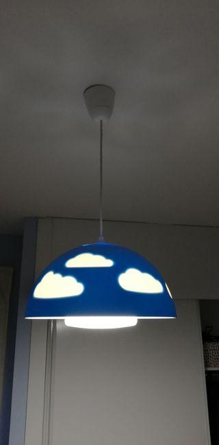 lámpara techo infantil