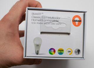 Bombilla de colores SMART+ de Osram