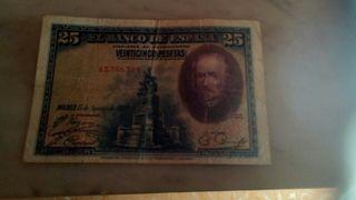 billete antiguo.